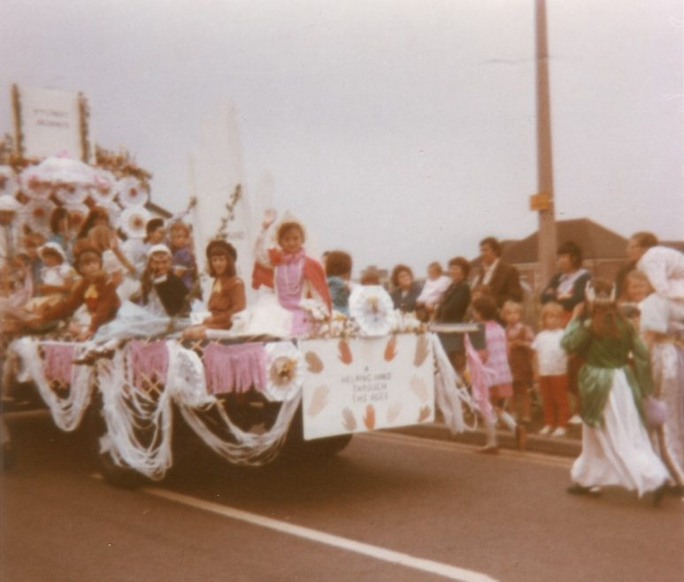 Canvey Brownies our float was Henry 8th and his Six Wife's.