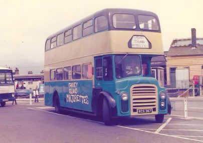 Canvey Island Majorettes' bus