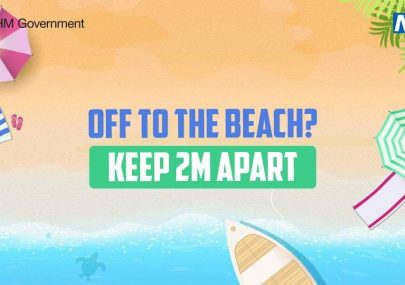 Off to the beach?