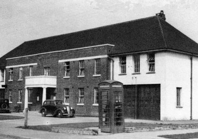 Canvey's old Council offices what year?