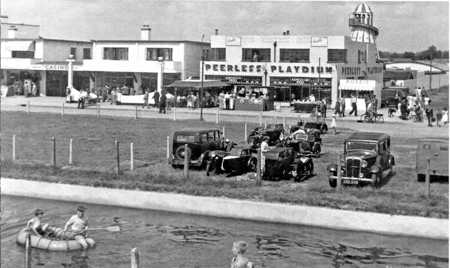 The beach and amusements but when?