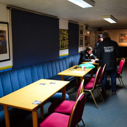 Clubhouse at Canvey FC