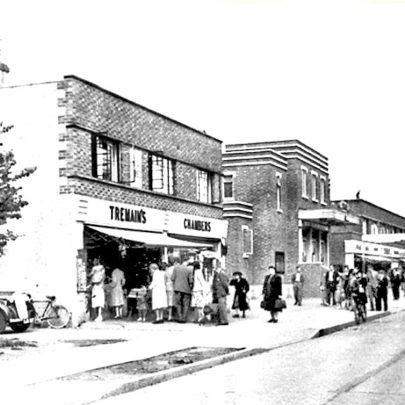 Originally the shop was Tremains