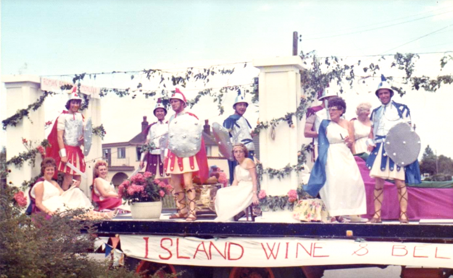 Canvey Wine Club's Carnival entries