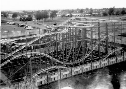 Wild Mouse ride 1961