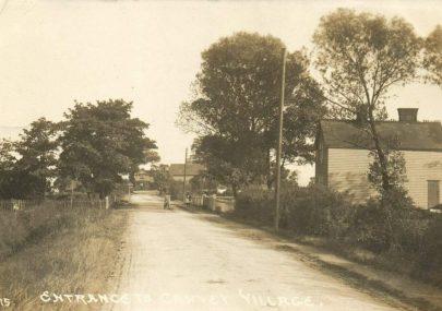 Early village postcard