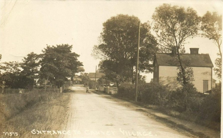 Early village postcard