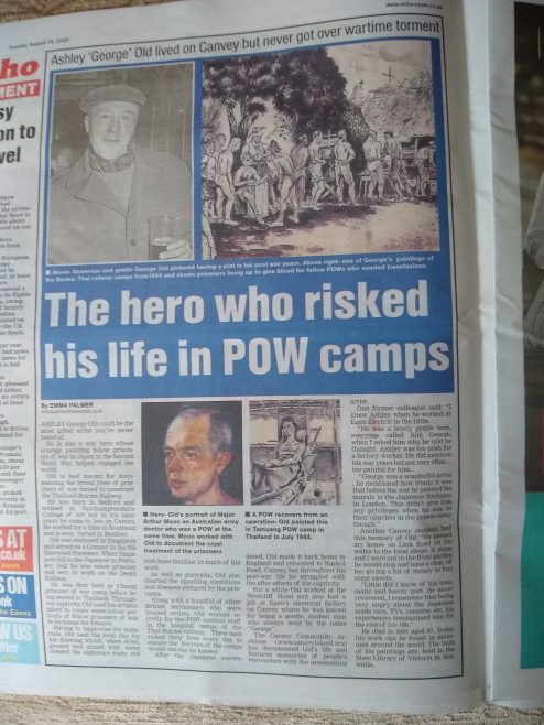 Our story about Ashley Old in the Echo