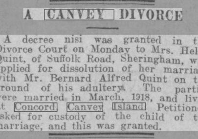 Divorce at Concord