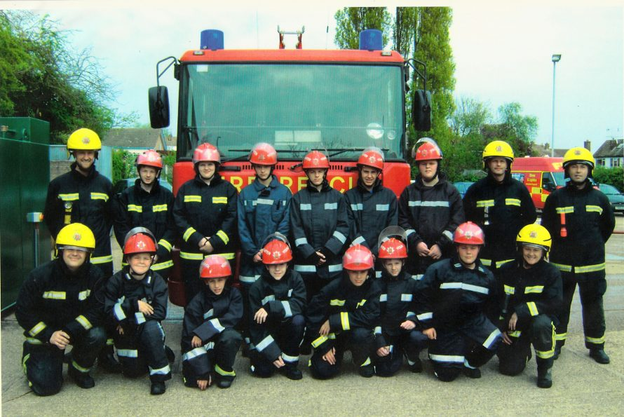 School and Fire Station meet | Courtesy of Canvey Bus Museum