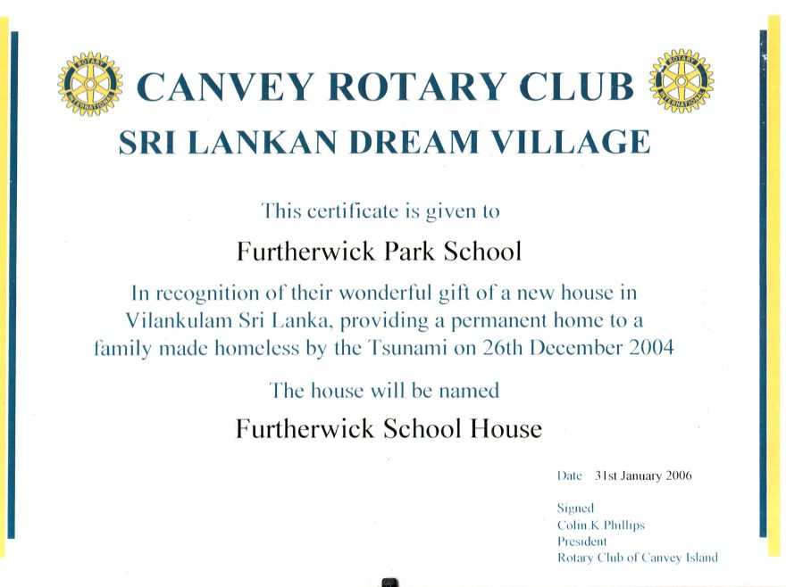 Canvey Rotary Village in Sri Lanka | Courtesy of Canvey Bus Museum