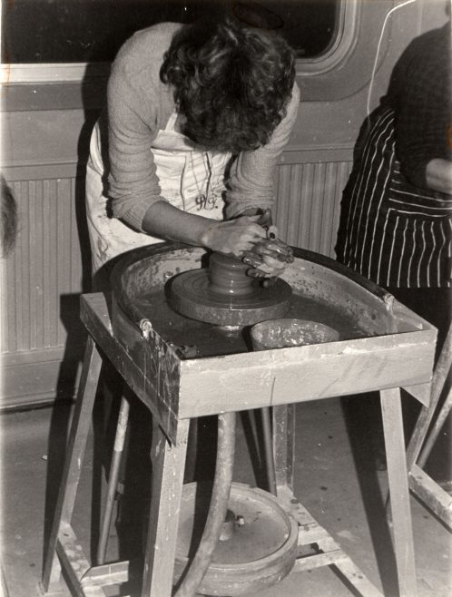 Pottery Evening Classes | Courtesy of Canvey Bus Museum