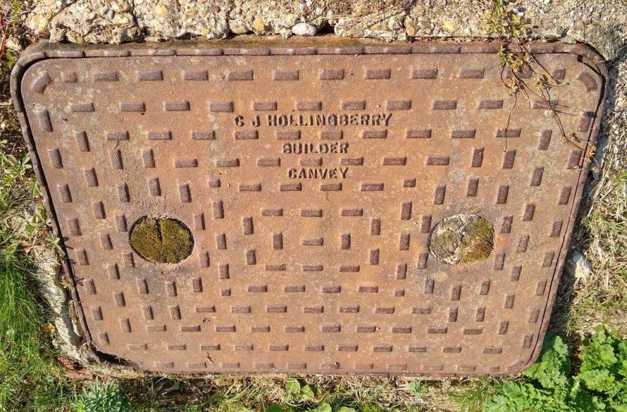C J Hollingbery manhole cover