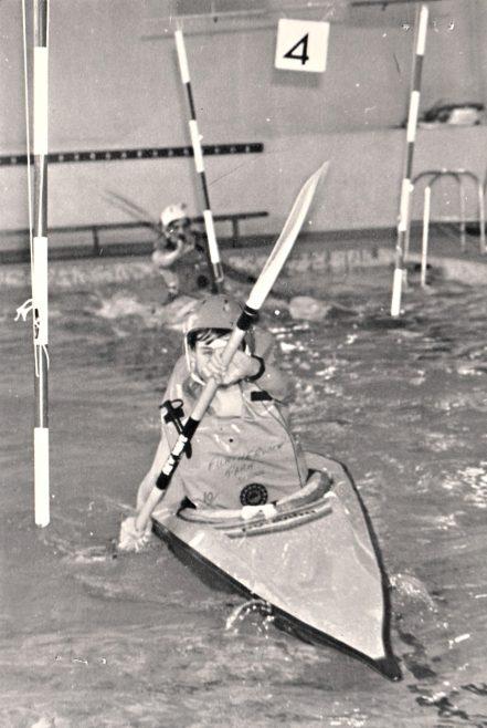 Canoe Club Slalom   Courtesy of Canvey Bus Museum