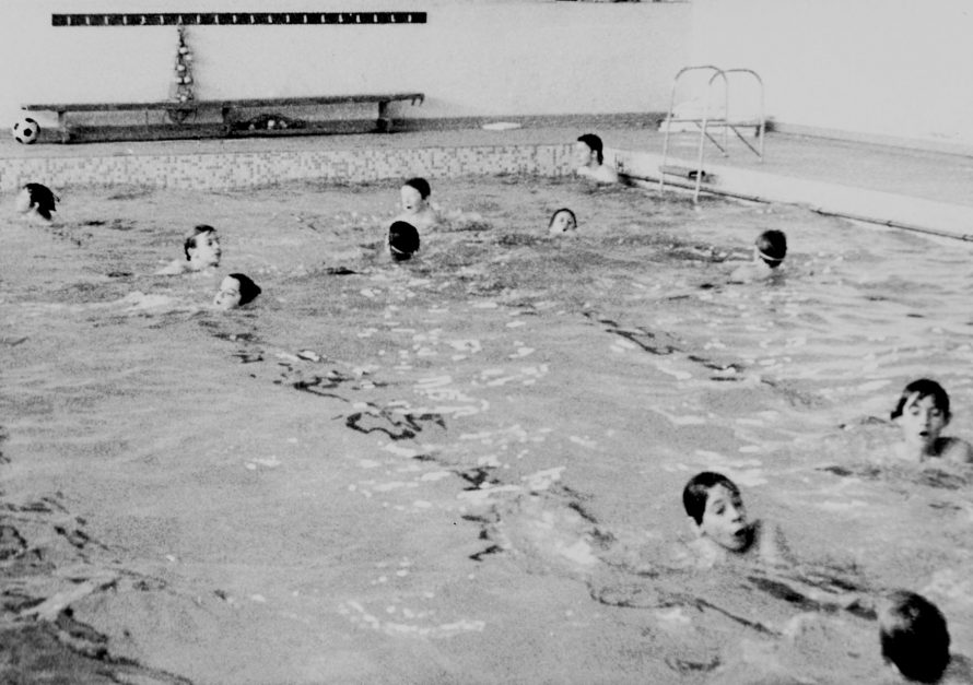 Swimming | Courtesy of Canvey Bus Museum