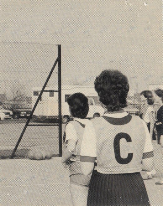 Netball | Courtesy of Canvey Bus Museum