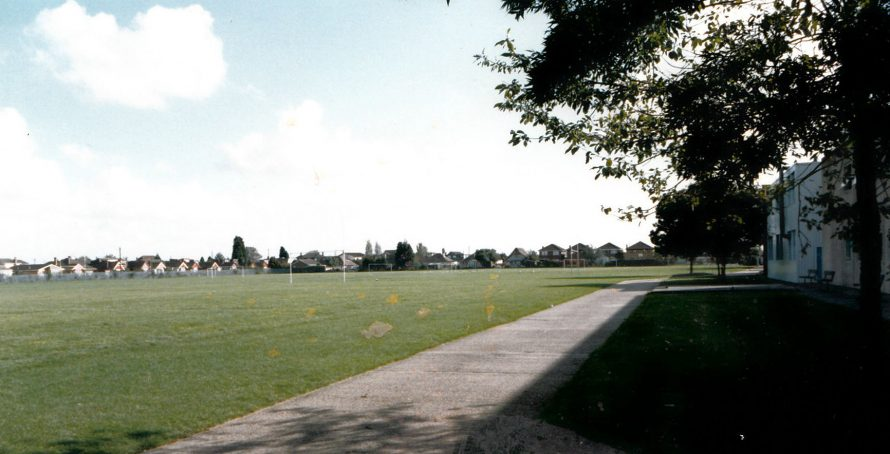 Furtherwick school field | Courtesy of Canvey Bus Museum