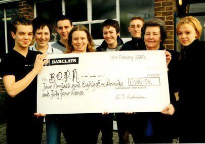 BOPH Donation 2000