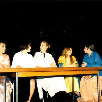'Top Girls' play.   Courtesy of Canvey Bus Museum