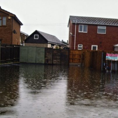 St Annes flooding July 2014