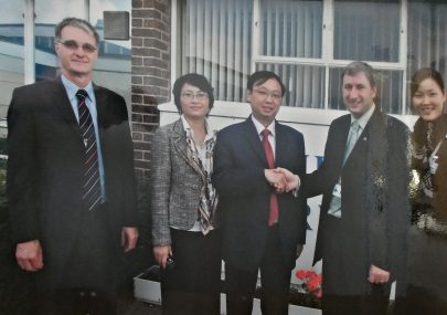 Chinese visitors to FPS Sixth Form