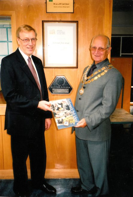 Mayor Alf Goldworthy | Courtesy of Canvey Bus Museum