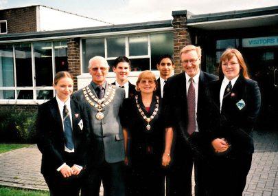 Visit by Mayor Alf Goldworthy 2000/1