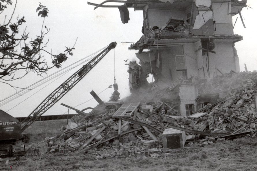 Kynoch Hotel Demolition 02 August 1968