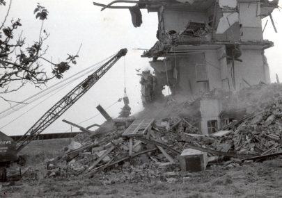 Demolition of the Kynoch Hotel 1968