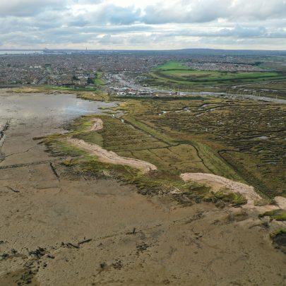 Drone photos around the Point