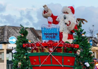 Santa - message from Canvey Rotary
