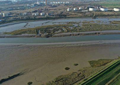 Upper Horse Island drone photos