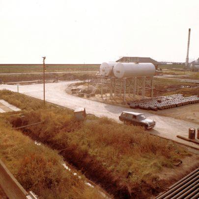 1969 Development of the site