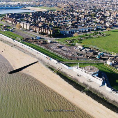 Labworth and beach | Chris Little