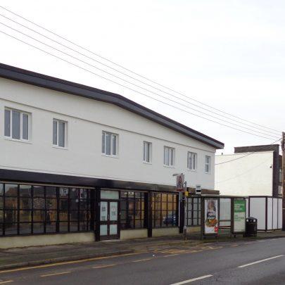New look for former Canvey Supply building. Nov 2020.   J.Walden