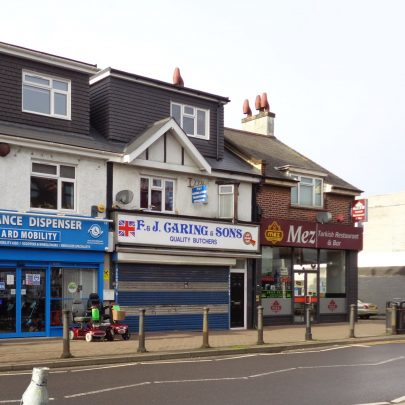 Caring's butchers closed awaiting refurbishment by the new owners. Jan 2021.   J.Walden