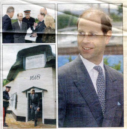 Royal visit for Canvey