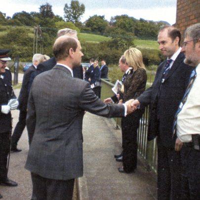 Prince Edward's Canvey Visit 2008