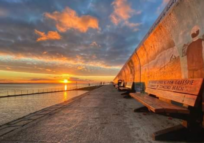 Canvey Sunset during Lockdown 3