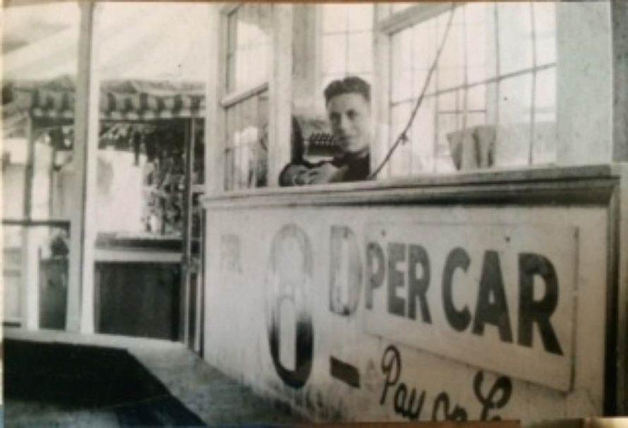 Casino Speedway track and dodgems pay box WW2