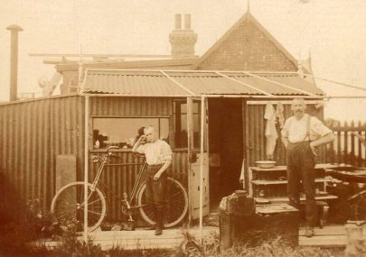 An early Canvey photo
