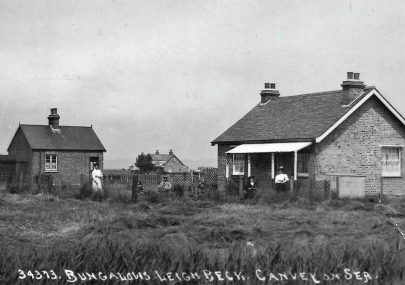 Two old bungalow pictures
