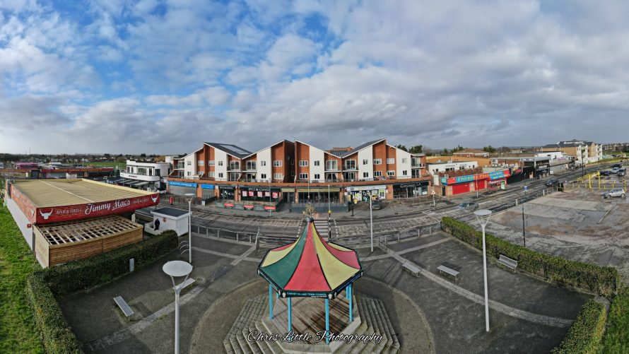 The seafront during lockdown 3