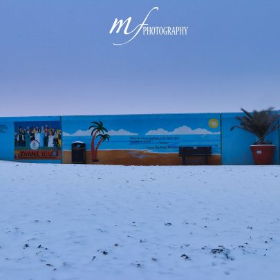 Snowy Canvey during Lockdown 3 | Marco Figueira