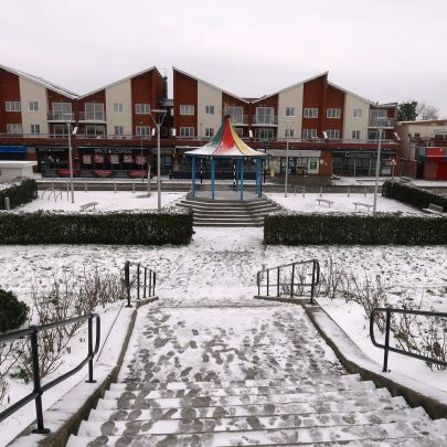 Snowy Canvey during Lockdown 3 | Charles March