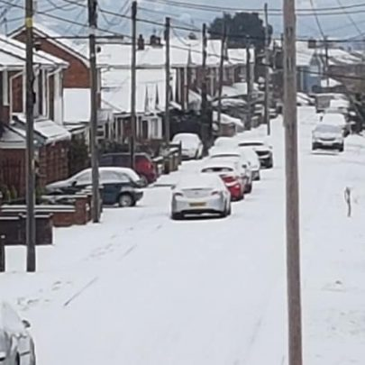 Snowy Canvey during Lockdown 3 | Edith Geddis