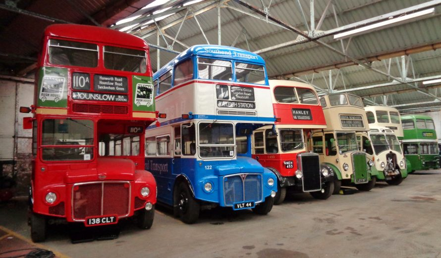 Canvey Transport Museum buses. | J.Walden