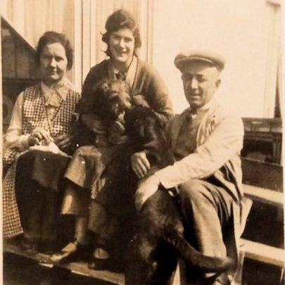 Ezio and Ermina with their daughter Maria c1940 | Sandy Richer