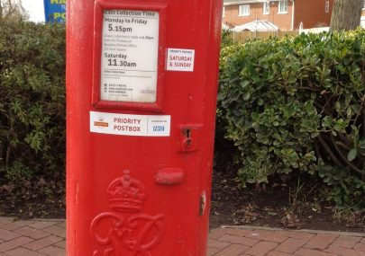 Old Royal Mail Pillar Boxes.