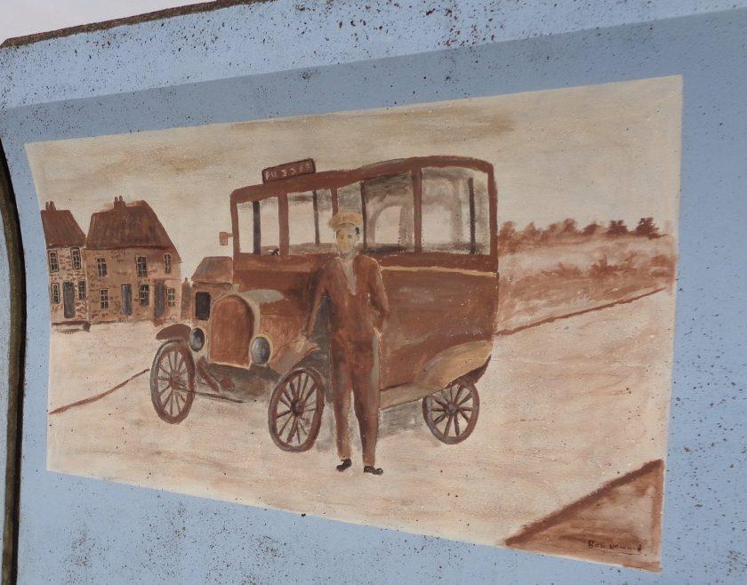 Ye olde bus service. | J.Walden